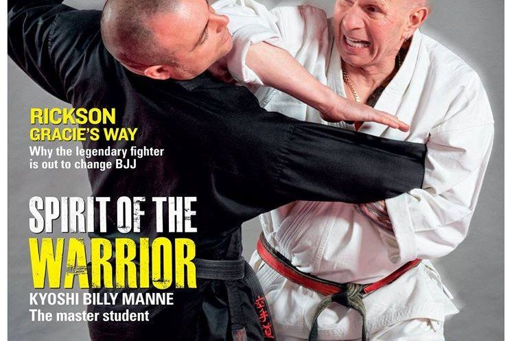 Billy Manne has featured in many editions of popular martial arts publications