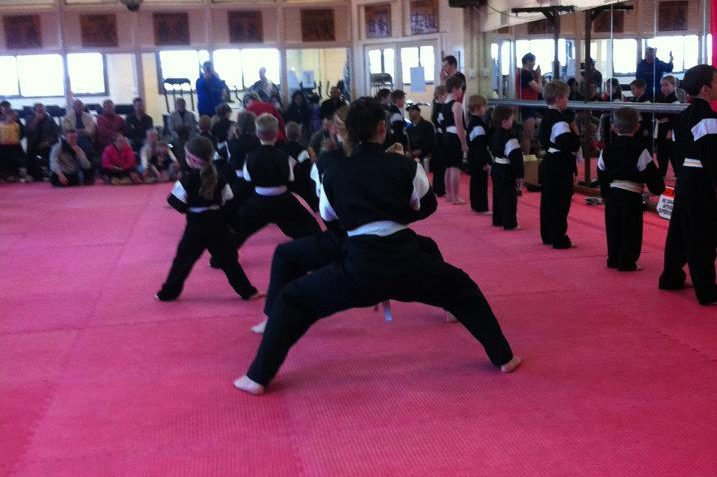 Karate Katas being performed at Billy Mannes Martial Arts
