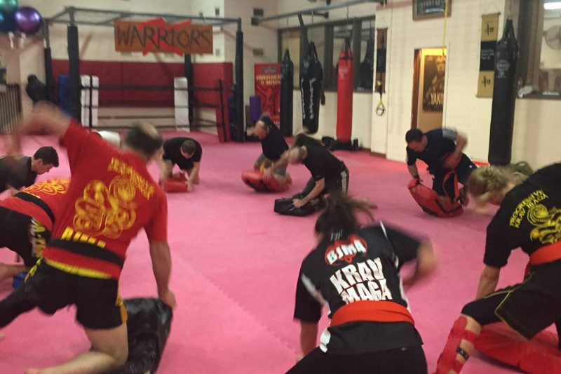 Ground and Pound Krav Maga
