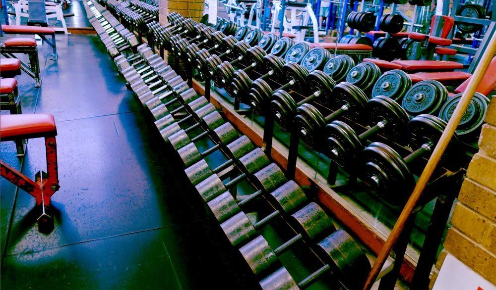 Billy Mannes Martial Arts Weight Rack