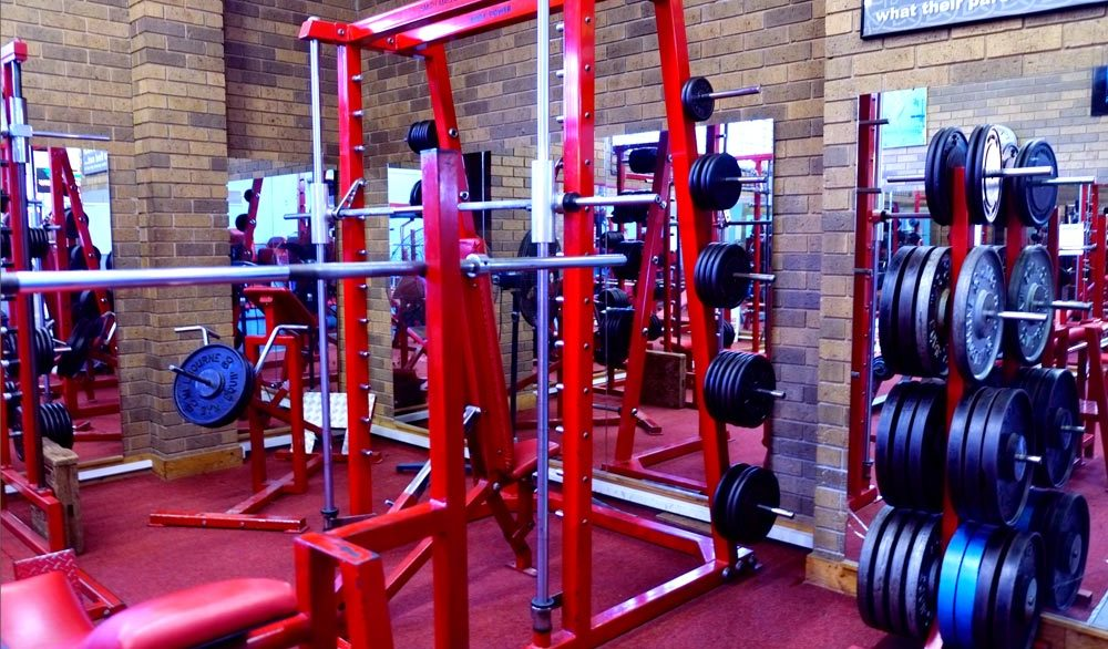 Quality Smith Machine to build leg stregth